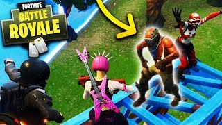 Dancing With The Enemy! - Fortnite: Battle Royale (Gameplay)