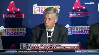 Dave Dombrowski Introduced As Red Sox President Of Baseball Operations