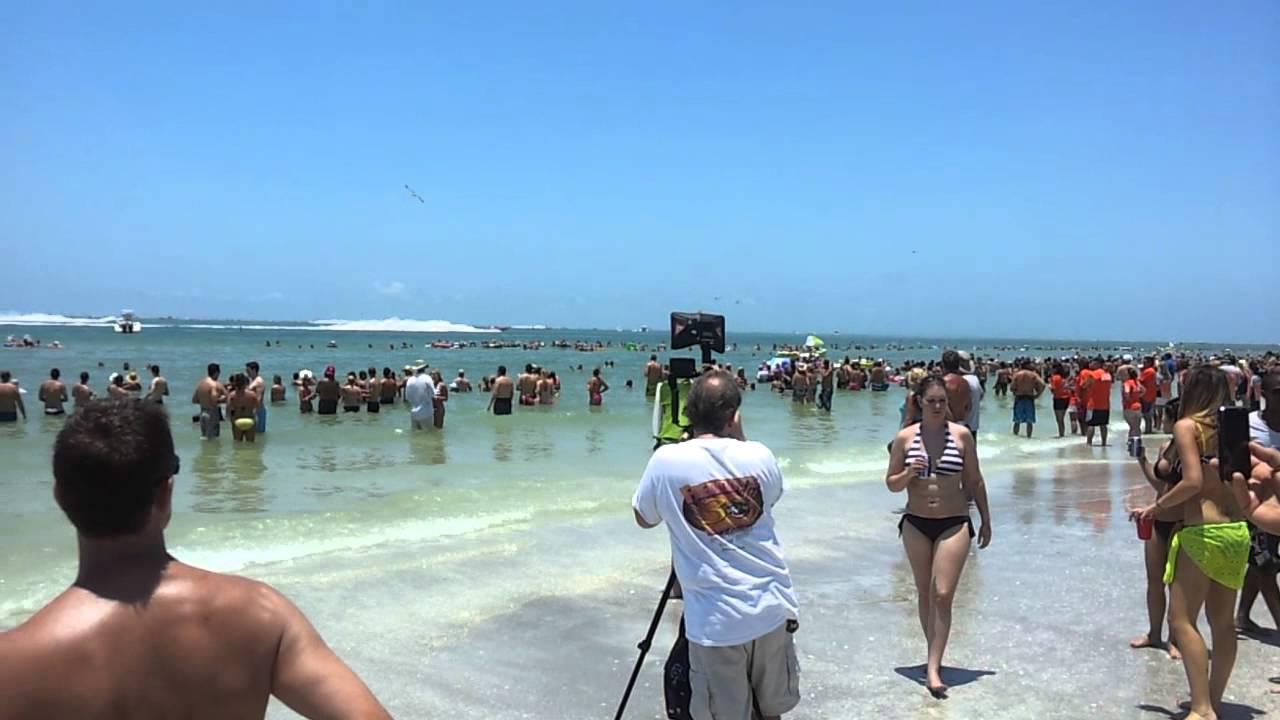 Lido Beach Sarasota Fl Boat Racing