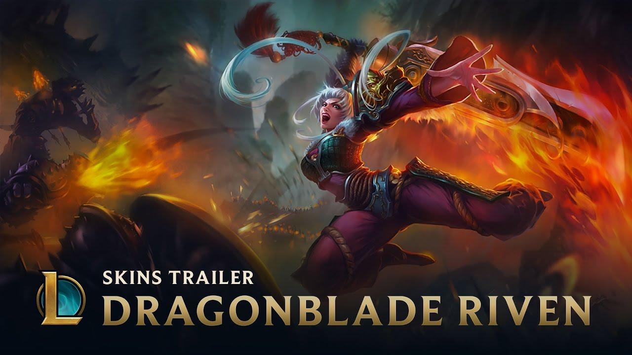 League of Legends - Dragonblade Riven