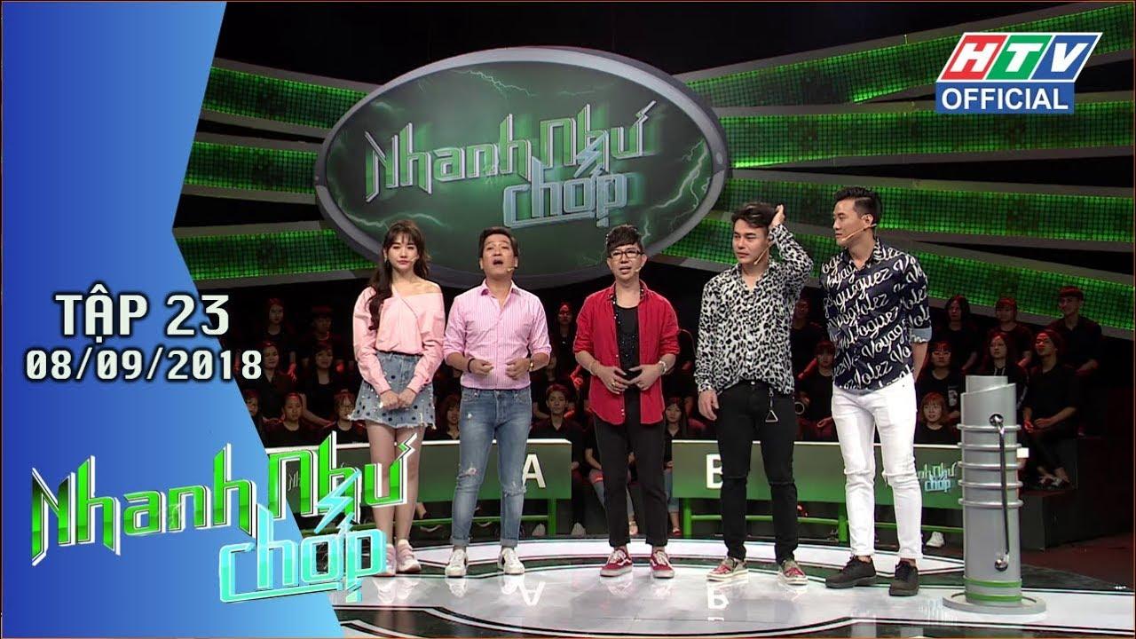 image HTV NHANH NHƯ CHỚP   Gay cấn tìm ra đội đầu tiên giành giải Đặc biệt   NNC#23 FULL   8/9/2018