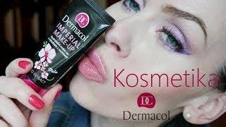 Kosmetika Dermacol - recenze produktů makeupy, řasenky, tvářenky, báze, rtěnky....