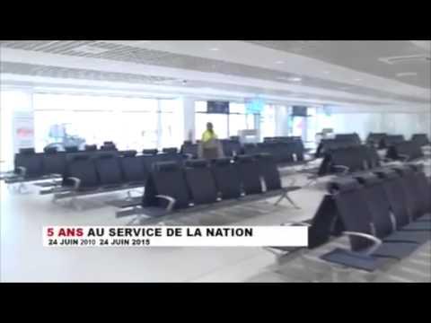 Nouvel Aéroport de N'djili Kinshasa, RD CONGO.
