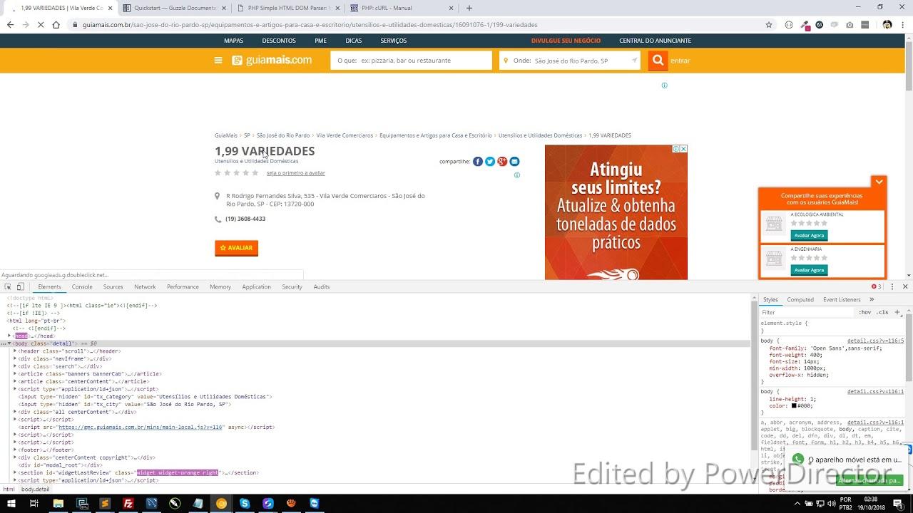 PHP: crawler e web scraping (2/4)