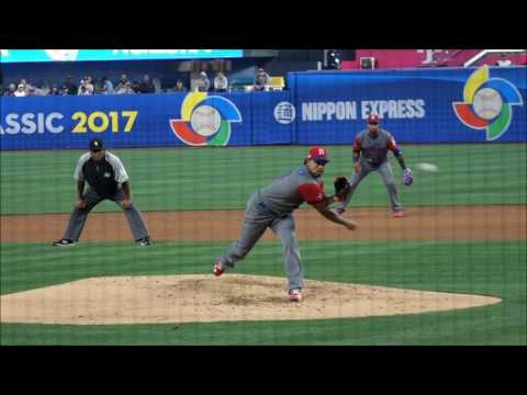Carlos Martinez, Team Dominican Republic/St Louis Cardinals RHP (2017 World Baseball Classic)