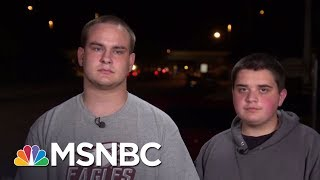 Brothers Describe Deadly Shooting At Florida High School | The 11th Hour | MSNBC