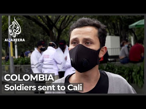 Colombia deploys military to Cali as protester death toll mounts