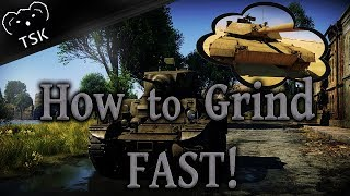 War Thunder | How To Earn MORE Research Points & Grind Vehicles FAST For FREE! (2019)