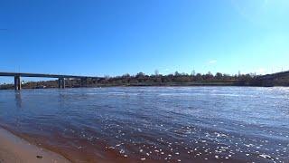 Рыбалка на реке Волхов весной