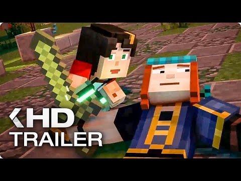 MINECRAFT Story Mode Staffel Trailer Most Popular Videos - Minecraft captive spiele