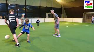 ⚽️ Fußball Challenge mit unseren Fans ⚽️ Trampolino Indoor Freizeitpark Kiel ⚽️ TipTapTube
