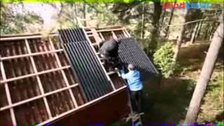 видео как укладывать ондулин