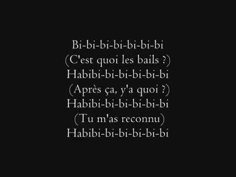 Maitre Gims   Habibi paroles