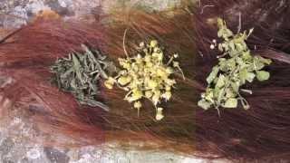 🌸68 Reflets naturels blonds, roux ou bruns : 100% NATUREL