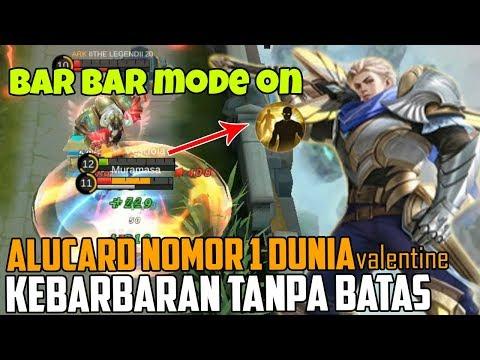 KEBARBARAN ALUCARD NOMOR 1 DI DUNIA, BRUTALITY MODE ON MOBILE LEGENDS INDONESIA