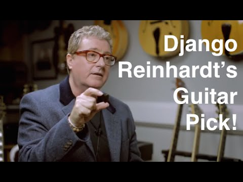 The Django Reinhardt Guitar Pick + Win A Rare Guitar Recording Experience with Martin Taylor