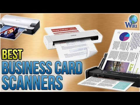 Business card reader apptivo worldnews 10 best business card scanners 2018 reheart Images