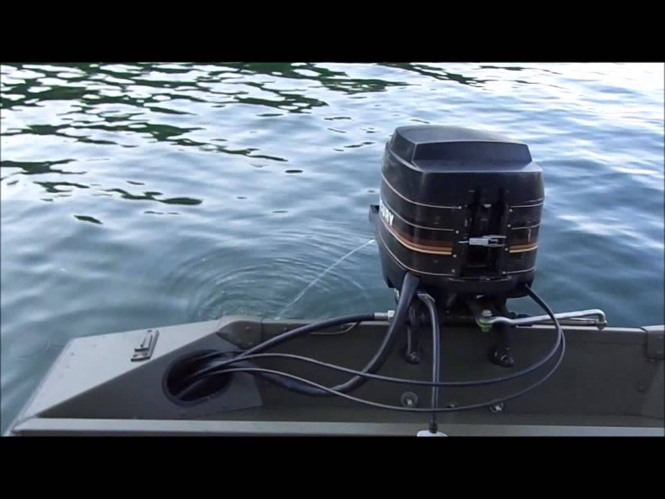 16 U0026 39  Bass Tracker  Mercury 35 Hp On The Lake