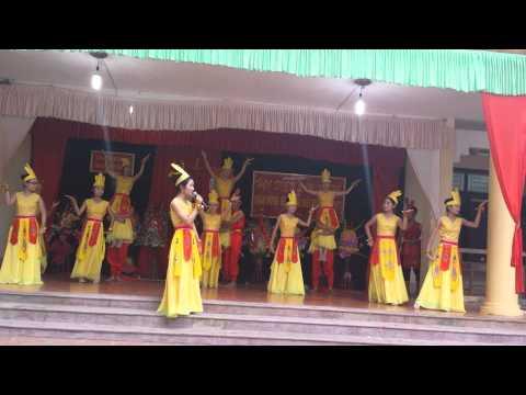 Múa Lời ru Âu Lạc - C1 THPT Yên Định II (20/11/2014)
