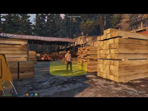 FiveM Roleplay -ESX - Lumberjack Job Tutorial - Uk Role Play - Gotv