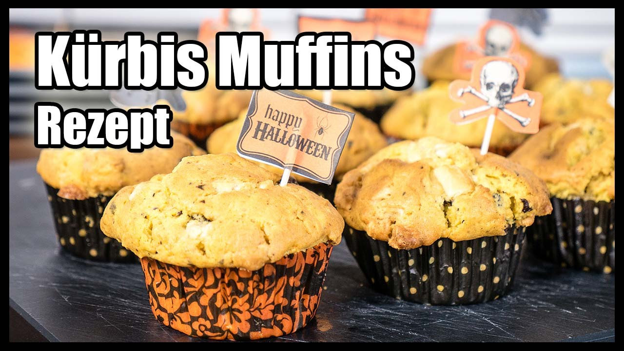 halloween k rbis muffins rezept gruselig lecker youtube. Black Bedroom Furniture Sets. Home Design Ideas