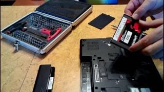 Notebook výměna hdd HP elitebook 8440p