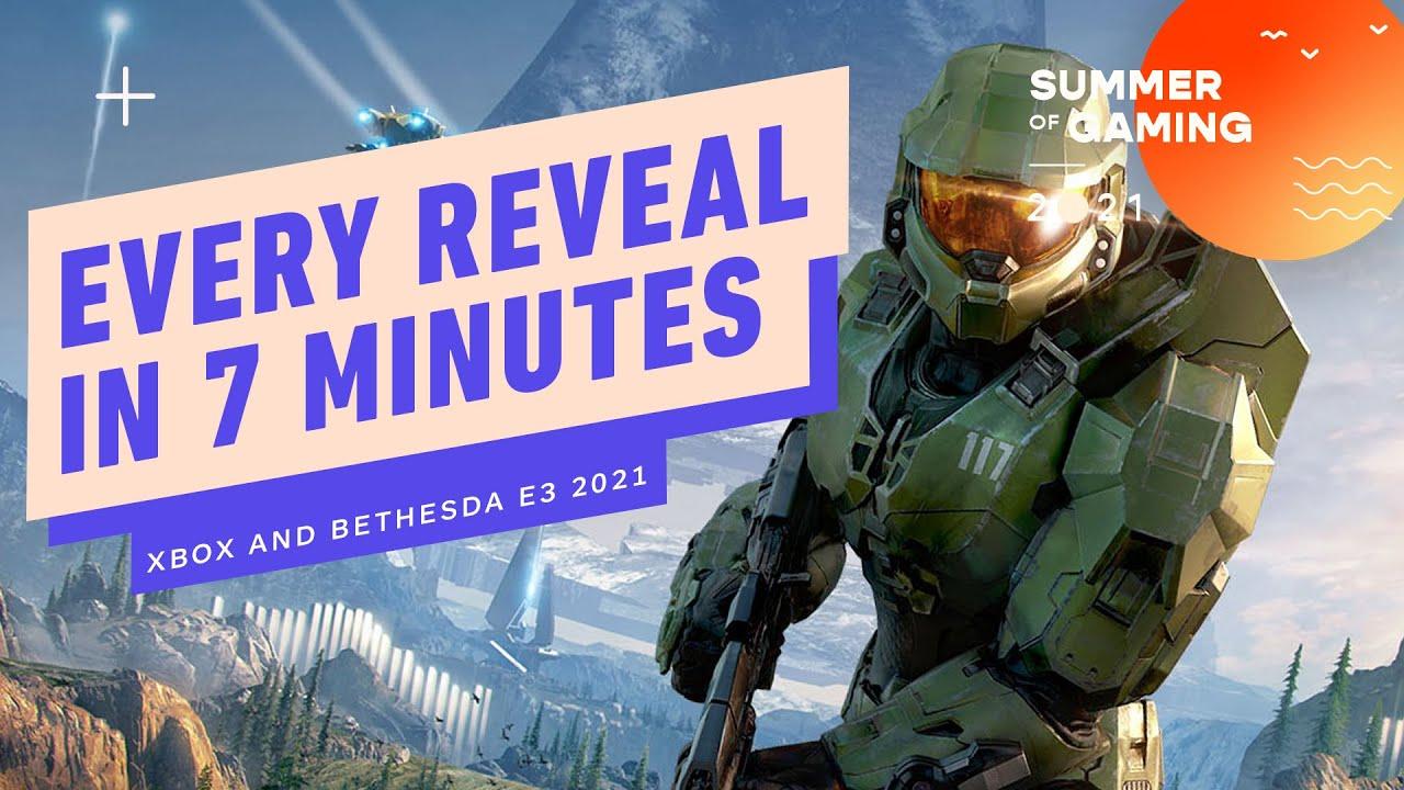 Download Xbox and Bethesda E3 Showcase in 7 Minutes - E3 2021