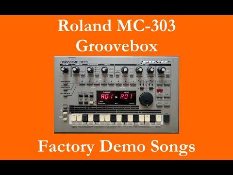 Roland MC-303 - Démos internes - Factory Demo Songs