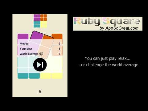 Ruby Square - Android Application from AppSoGreat