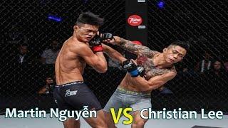 Võ sĩ gốc Việt Martin Nguyễn vs Christian Lee bảo vệ đai vô địch One Champion (PART 2)