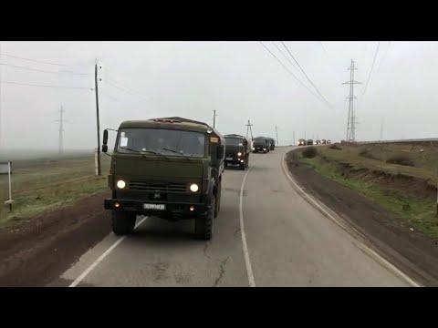 Минобороны: режим прекращения огня в Нагорном Карабахе соблюдается по всей линии соприкосновения.