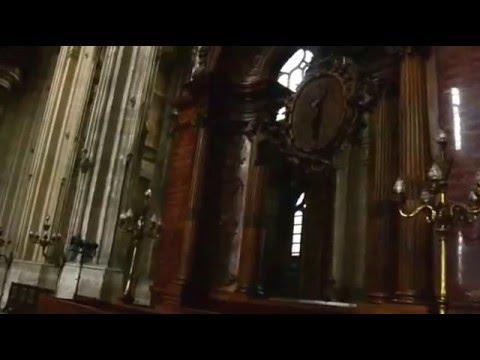 """""""Шагая по Парижу"""" Экскурсия по Парижу Церковь Сент-Эсташ (фр. Saint-Eustache)"""
