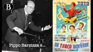 """Pippo Barzizza e il cinema. I titoli di testa del film """"Un turco napoletano"""", 1953."""