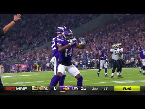 Every Sam Bradford Throw From Week 1 2017