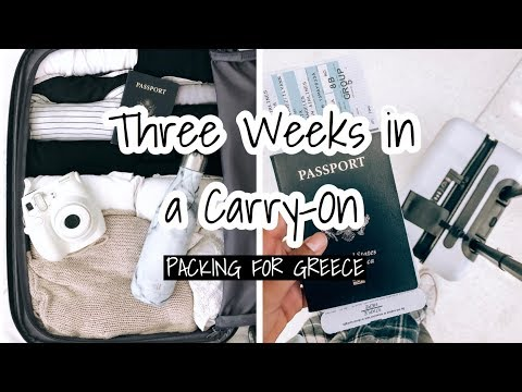 three-weeks-in-a-carry-on-|-packing-for-greece