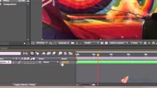 Управление скоростью клипа в Adobe After Effects CS5 (12/20)