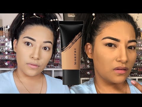 NEW FOUNDATION: MORPHE FLUIDITY F3.50 & F3.20 + MORPHE CONCEALER C2.35 ALL DAY WEAR TEST