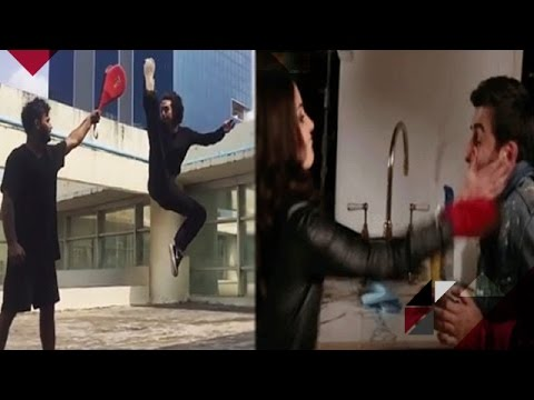 Tiger Shares His High Kick Video | Anushka...