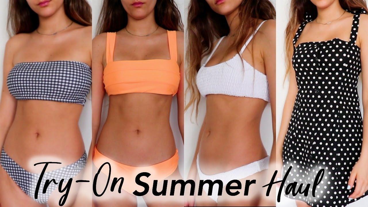 Affordable Summer Clothing   Bikini Try-On Haul + Lookbook - YouTube 96146ef35