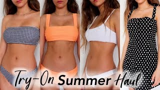Affordable Summer Clothing & Bikini Try-On Haul + Lookbook