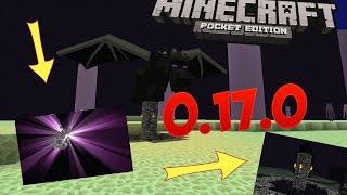 ПРОШЕЛ Minecraft PE 0.17.0 СМЕРТЬ ДРАКОНУ !