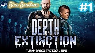 DEPTH OF EXTINCTION , TAKTİKSEL RPG , Türkçe , Bölüm 1 , Eğlenceli Oyun Videosu