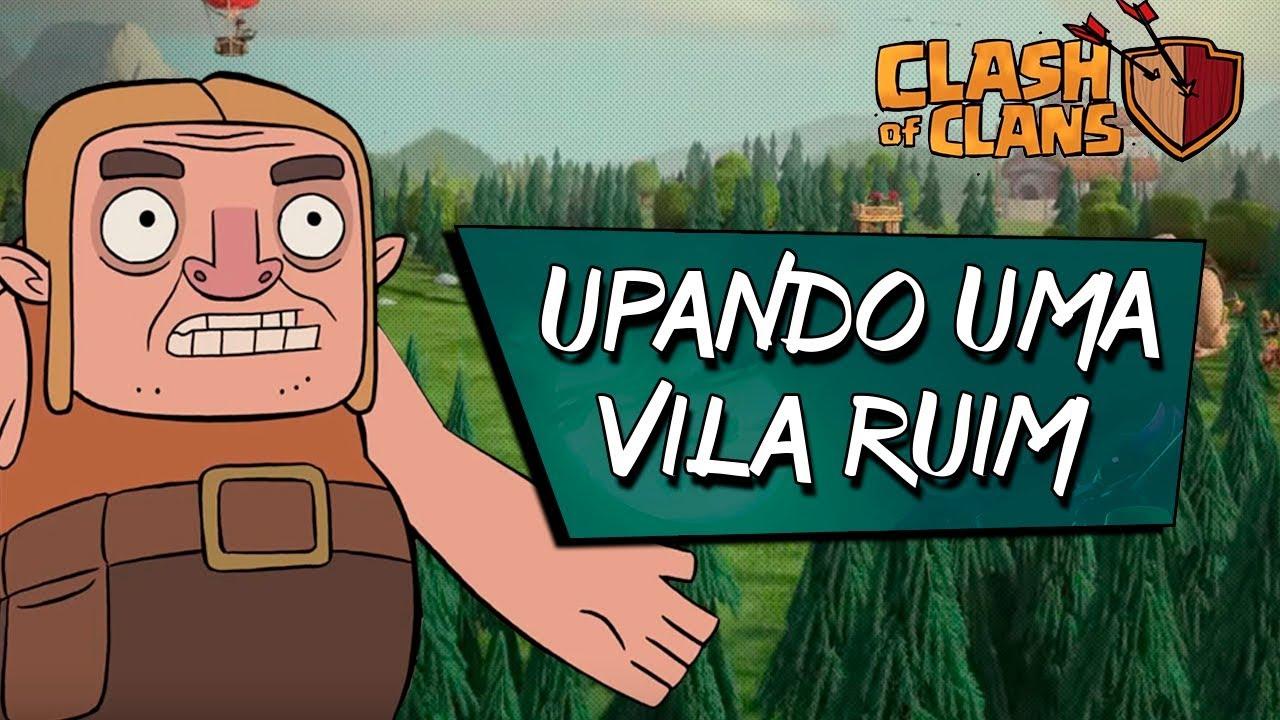A MELHOR MANEIRA PARA UPAR MUITO RÁPIDO NO CLASH OF CLANS