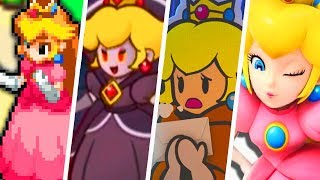 Evolution of Princess Peach in Mario RPG Games (1996 - 2019)