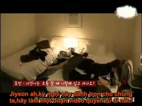 [Fakesub] Quay lén - JiMin aka Jiyeon & Hyomin couple =))