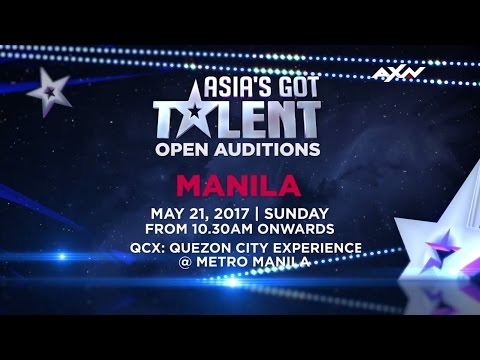 Open Audition in Manila | Asia's Got Talent 2