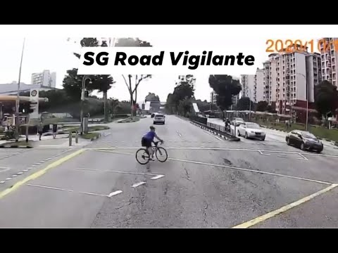 7oct2020  cyclists are welcome to share the road.but please conform to traffic rules.