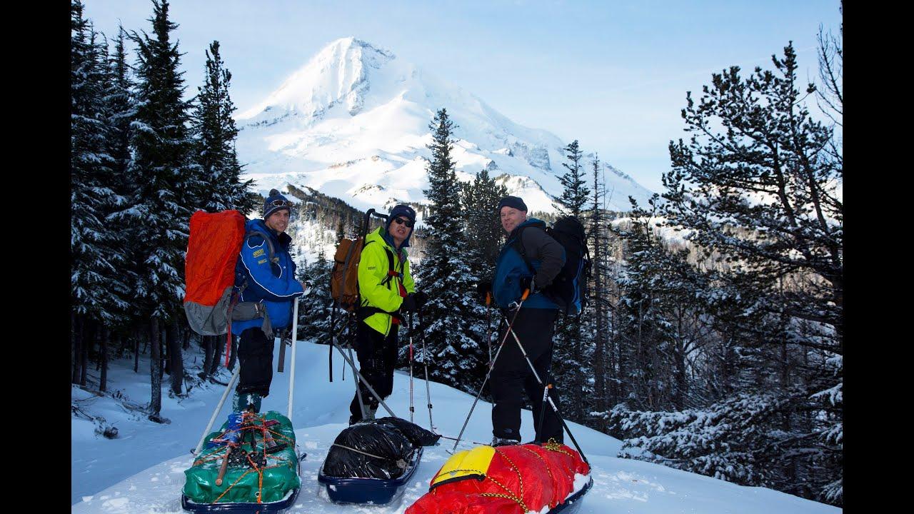 Snow Pulking Adventure – Cloud Cap- Tilly Jane – Mt. Hood, Oregon ...