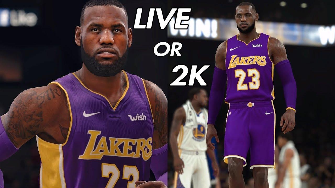 b824fcf024e6 NBA LIVE 19 Will It Be LIT - LeBron James vs NBA 2K LeBron James. JPB The  Creator