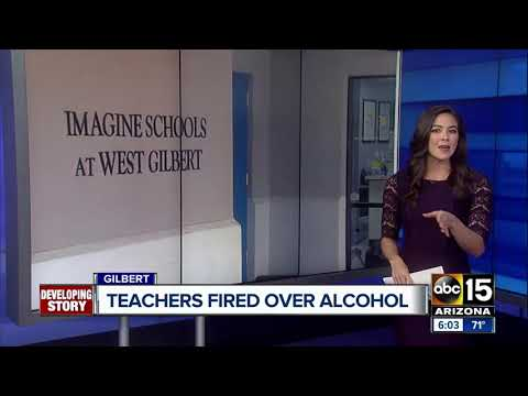 Gilbert teachers fired for violating alcohol abuse policy